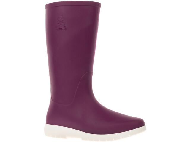 Kamik Jessie rubberlaarzen Dames, dark purple